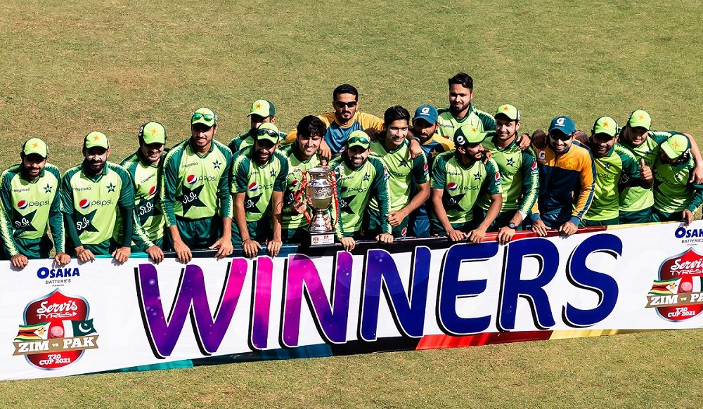 PAK won the series against ZIM and Babar Azam breaks another record