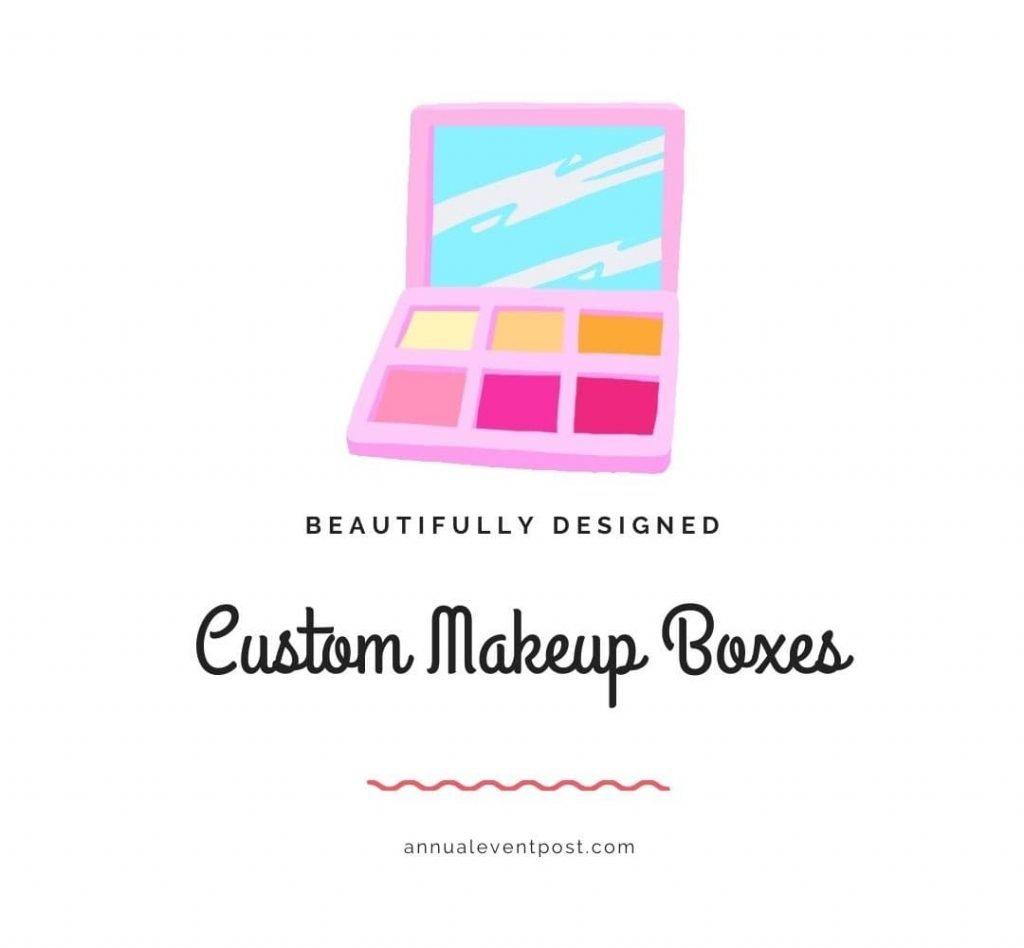 Beautifully Designed Custom Makeup Boxes