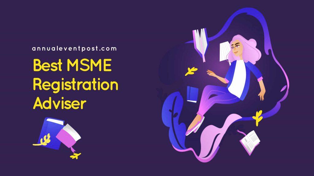 Best MSME Registration Adviser