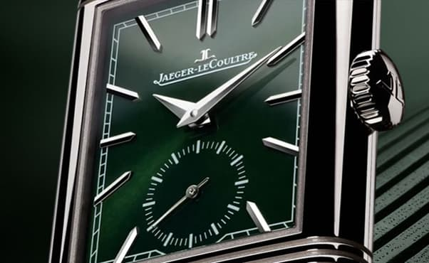 The New Jaeger-LeCoultre Reverso Tribute Small Seconds 2021 Is Cloaked in Green