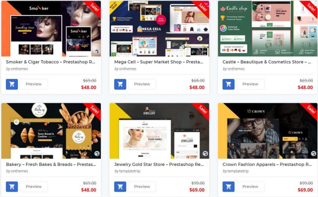 8 Best PrestaShop Premium Themes 2021